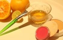 Orange organic face mask!