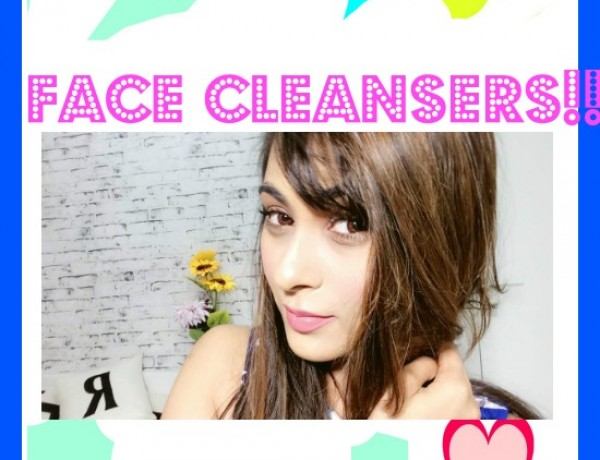 FACE CLEANSERS 3